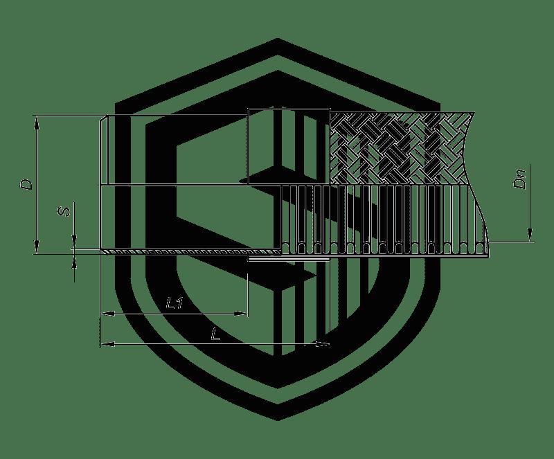 Металлорукав под приварку ПС (Стандартная серия)