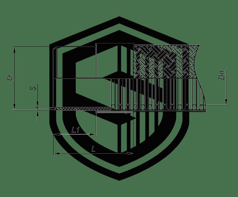 Металлорукав под приварку ПК (Короткая серия)