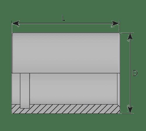Муфта для РВД PTFE 1 / PTFE 2