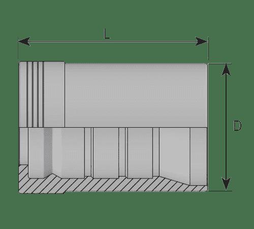 Муфта Interlock для РВД 4SP / 4SH