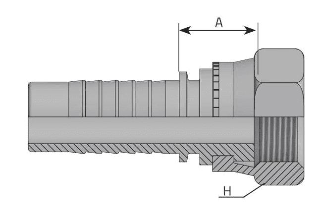 Фитинг BSP-F: английский трубный стандарт