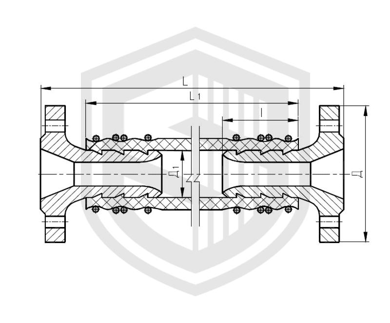 Соединения рукавные амортизирующие фланцевые ОСТ 5Р.5445-80