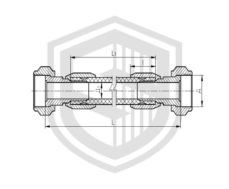 Соединения рукавные штуцерные ОСТ 5Р.5445-80