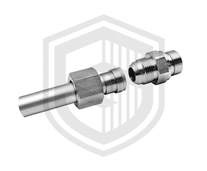 Трубные соединения с опорным кольцом (JIC)