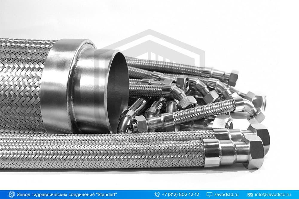 Производство металлорукавов высокого давления
