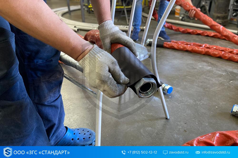 завод металлорукавов, производитель металлорукавов, металлорукава производство