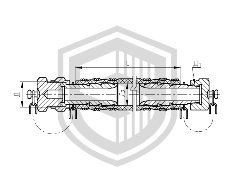 Соединения рукавные для приема и выдачи жидких и газообразных сред ОСТ 5Р.5444-80
