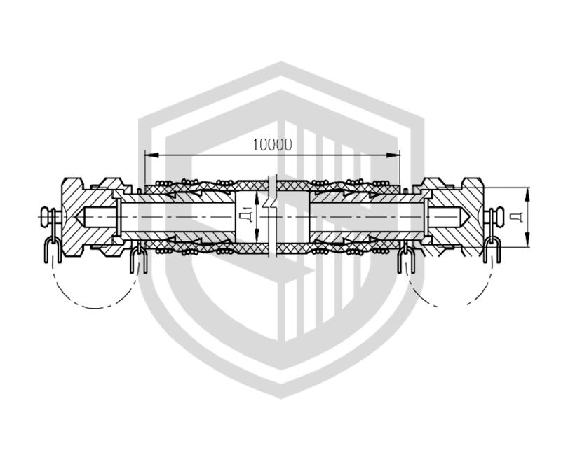Соединение рукавное для приема и выдачи жидких и газообразных сред  ОСТ 5Р.5444-80