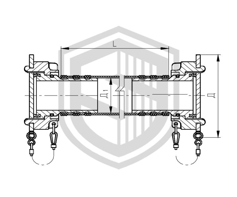 Соединения рукавные для приема и выдачи жидких и газообразных сред с быстросмыкающейся гайкой ОСТ 5Р.5444-80