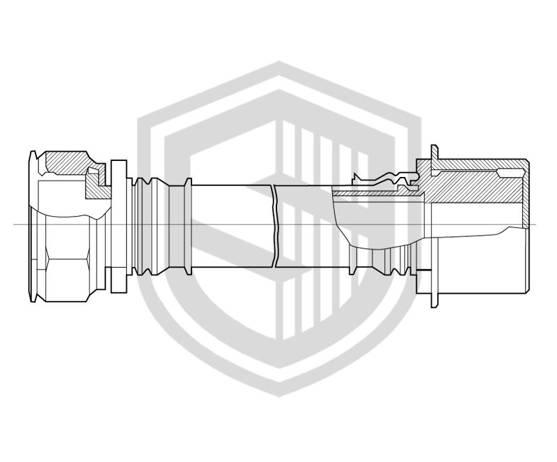 Фторопластовые рукава со штуцерным соединением